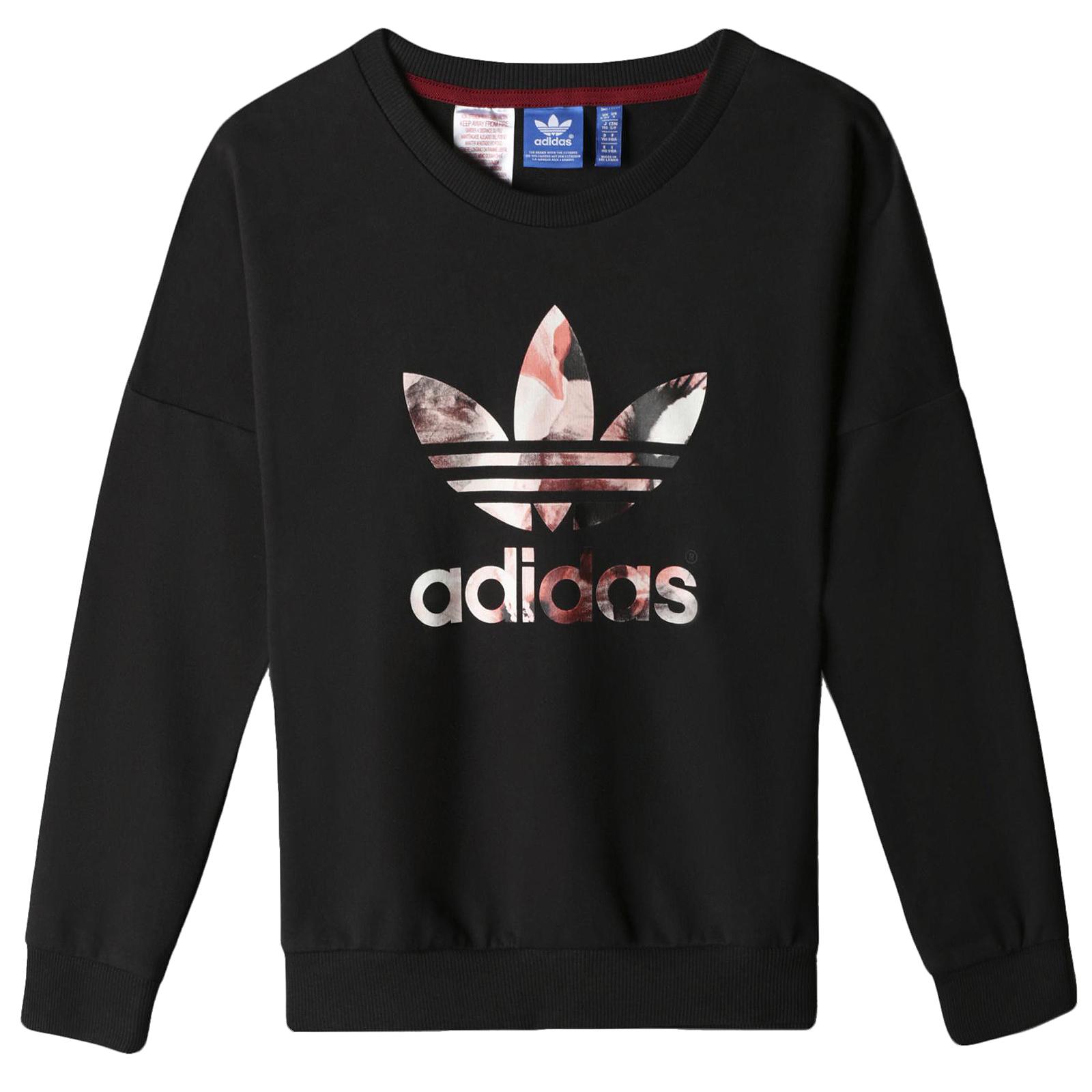 adidas jumper black HQNCZAV