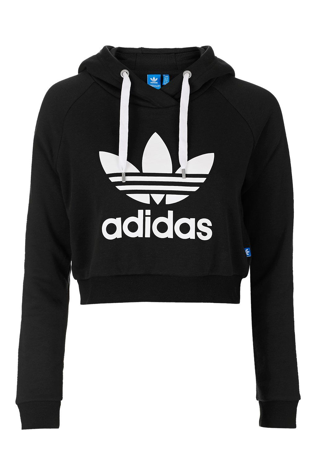 adidas jumper cropped hoodie by adidas originals - topshop BMODUAQ