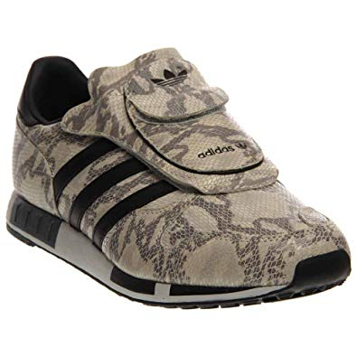 adidas micropacer micropacer og mens (snake pack) in white/black/grey by adidas, EARIWLT