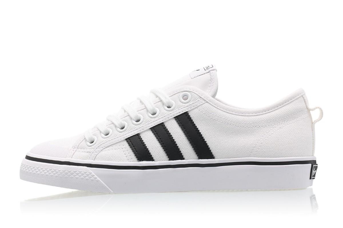 adidas nizza footwear white/core black cq2333 TDZMXYH