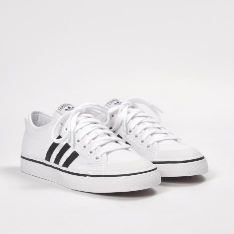 adidas nizza footwear white/core black/footwear white RCFCAUP