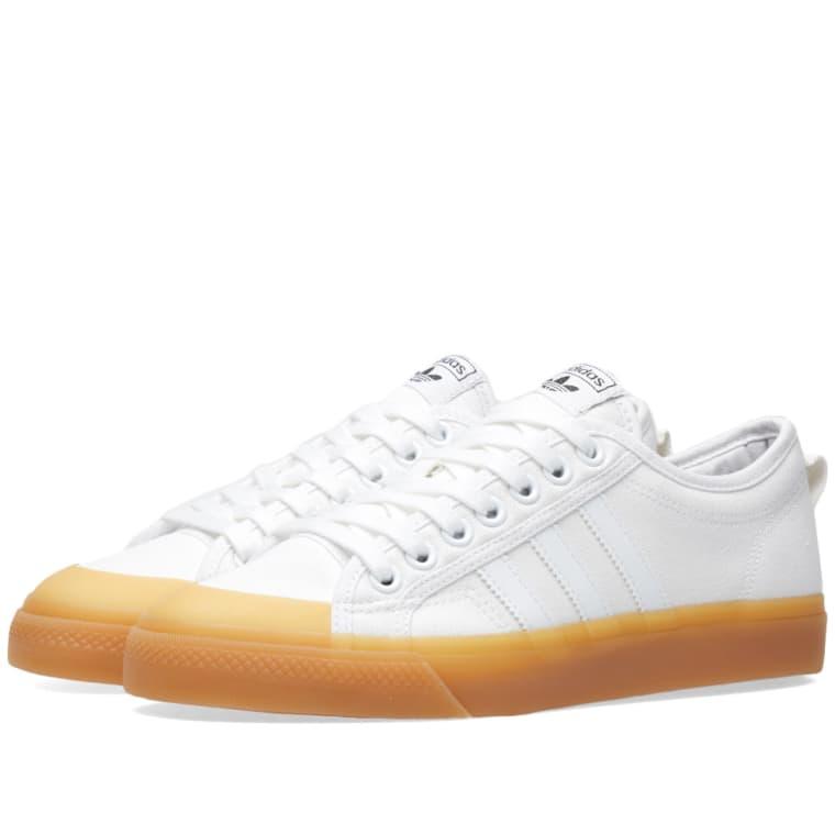 adidas nizza w white ... VGJVFBD