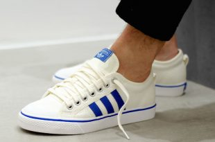 adidas nizza white blue gum TQKGDSJ