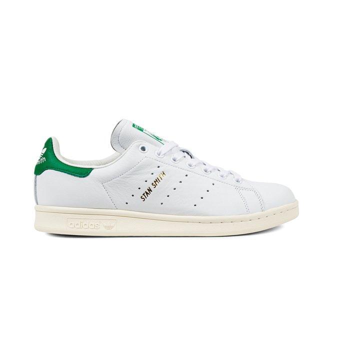 adidas originals stan smith ... adidas originals - stan smith, running white/white/green 1 ... IXSVZJU