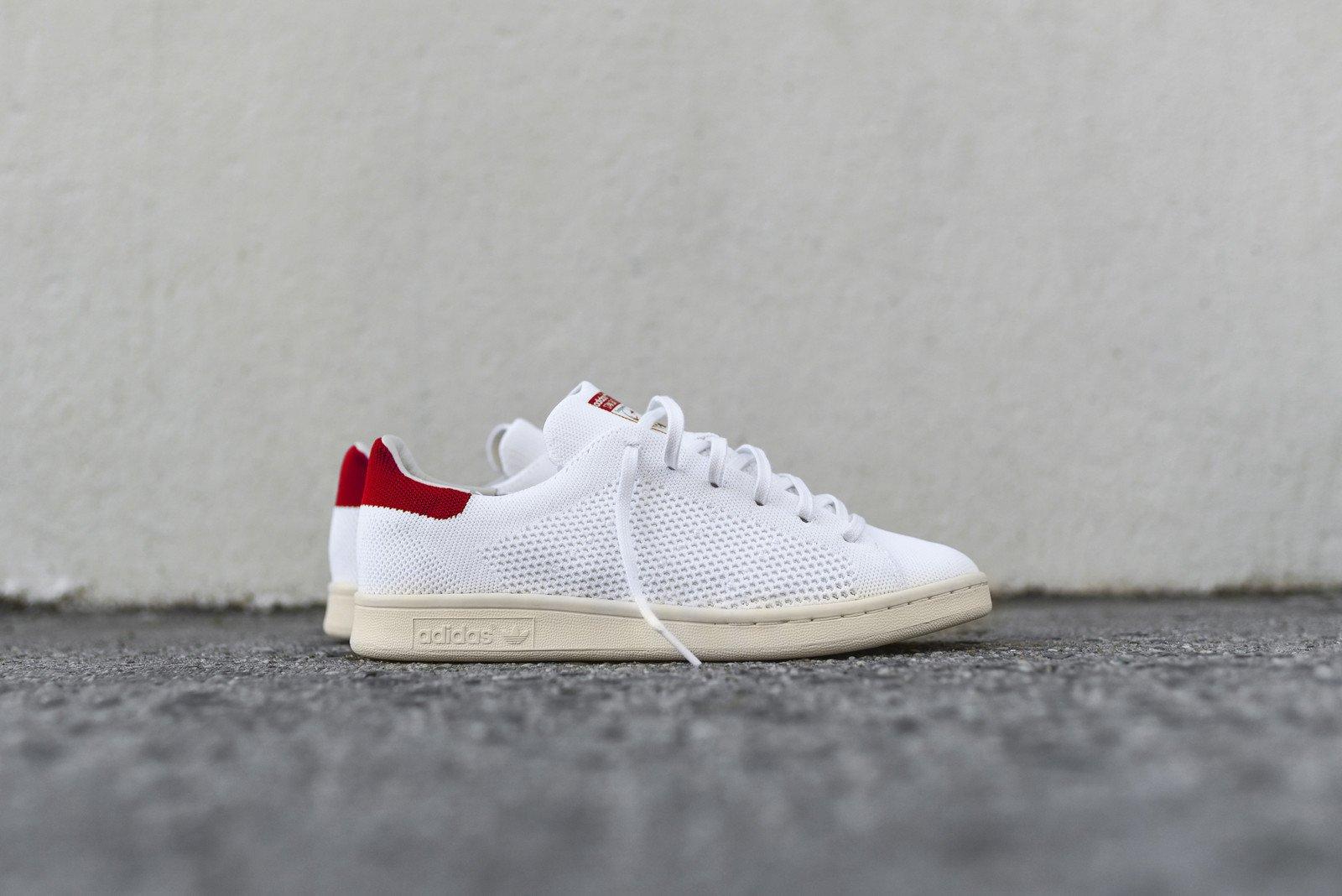 adidas originals stan smith pk - white / red OGEDPVP