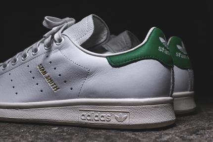 adidas originals stan smith premium - white / green XEENBXU