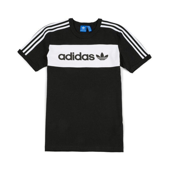 Adidas Originals T Shirt ... adidas originals - block t-shirt, black 1 ... GKHHOFY