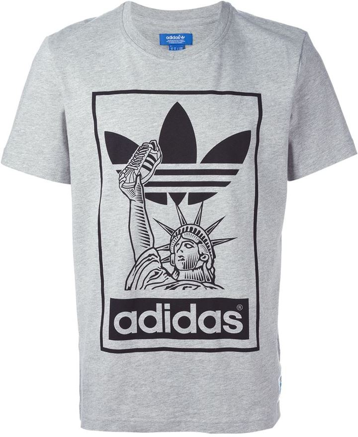 Adidas Originals T Shirt ... adidas originals statue of liberty t shirt CASWPMS