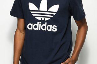 Adidas Originals T Shirt adidas originals trefoil legend ink navy t-shirt ... YDMTTLH