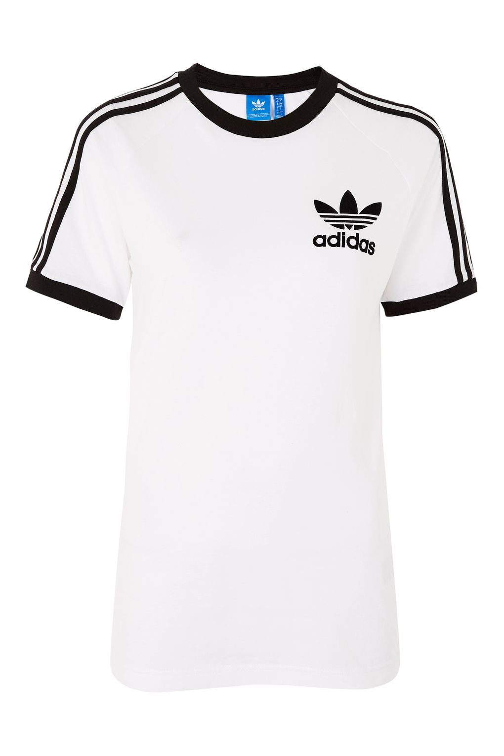 Adidas Originals T Shirt california 3-stripe t-shirt by adidas originals ZJYIWUZ