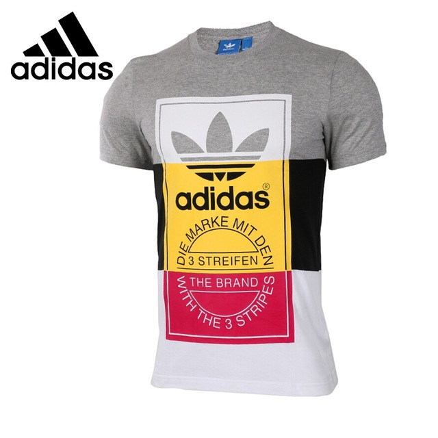 Adidas Originals T Shirt original new arrival 2017 adidas originals panel tongue te menu0027s t-shirts  short RDJNWJM