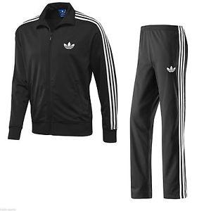 adidas originals tracksuit adidas-originals-firebird-tracksuit-black-white-mens-sizes- FHFSBFP