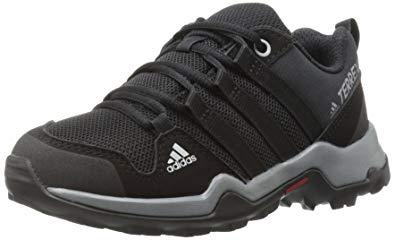 Adidas Outdoor adidas outdoor kidsu0027 terrex ax2r lace-up shoe, black/black/vista MPIQDIS