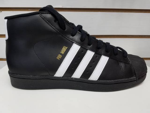adidas pro model black and white (classics u0026 og) MZFRRPG
