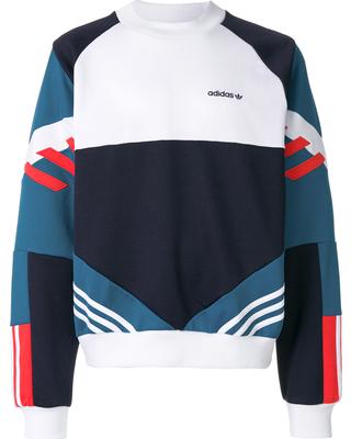 Adidas Retro adidas originals nova retro sweatshirt - blue LBMPWWE