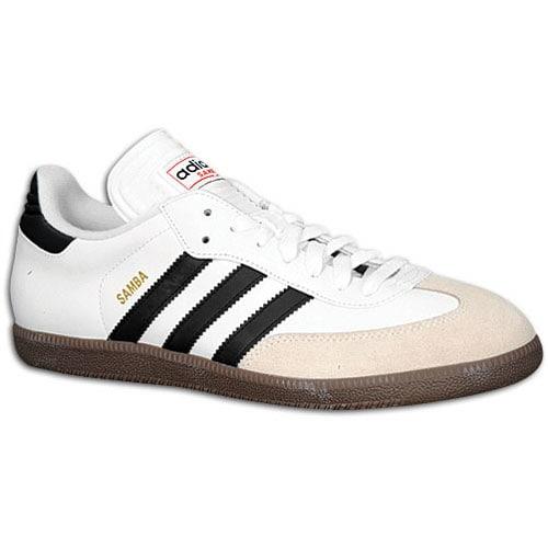 adidas samba classic - menu0027s - soccer - shoes - white/black POWEJKZ
