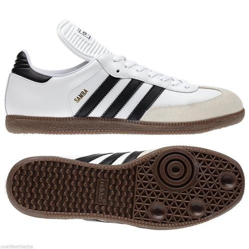 adidas samba classic soccer shoes white-black RPYJOPZ