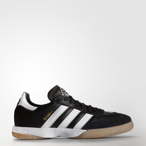 adidas samba samba millennium leather in shoes black 088559 XINHHWD