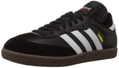 adidas samba shoes adidas menu0027s samba classic soccer shoe,black/running white,6.5 ... PQRZVQE