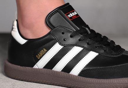 adidas samba shoes black white PYWVINK