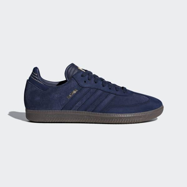 adidas samba shoes samba fb shoes blue cq2089 HNNVWVA