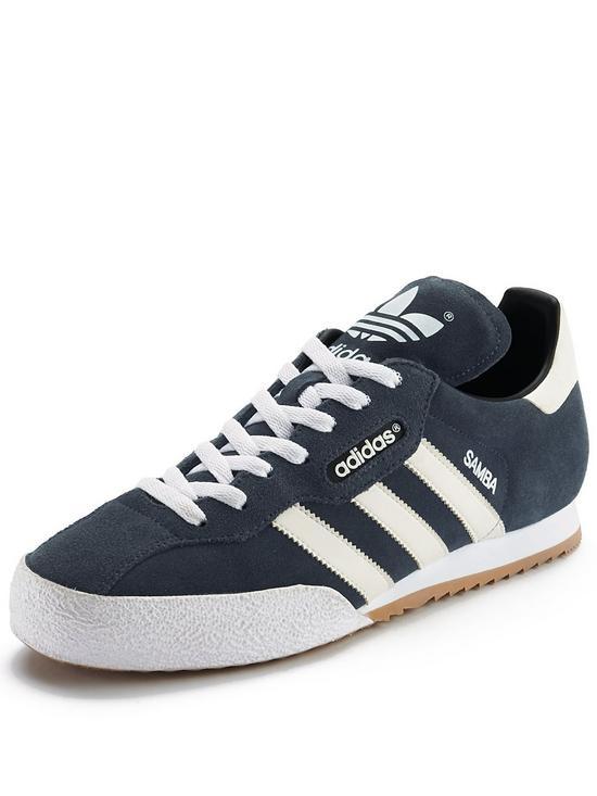 adidas samba trainers adidas originals samba super suede trainers | very.co.uk JCTHVTB