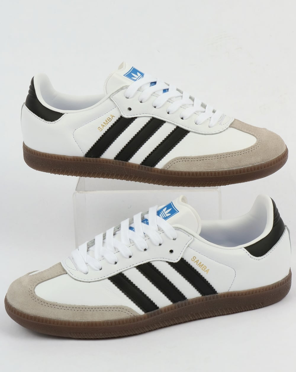 adidas samba trainers adidas samba og trainers white/black gum HJZEFAP