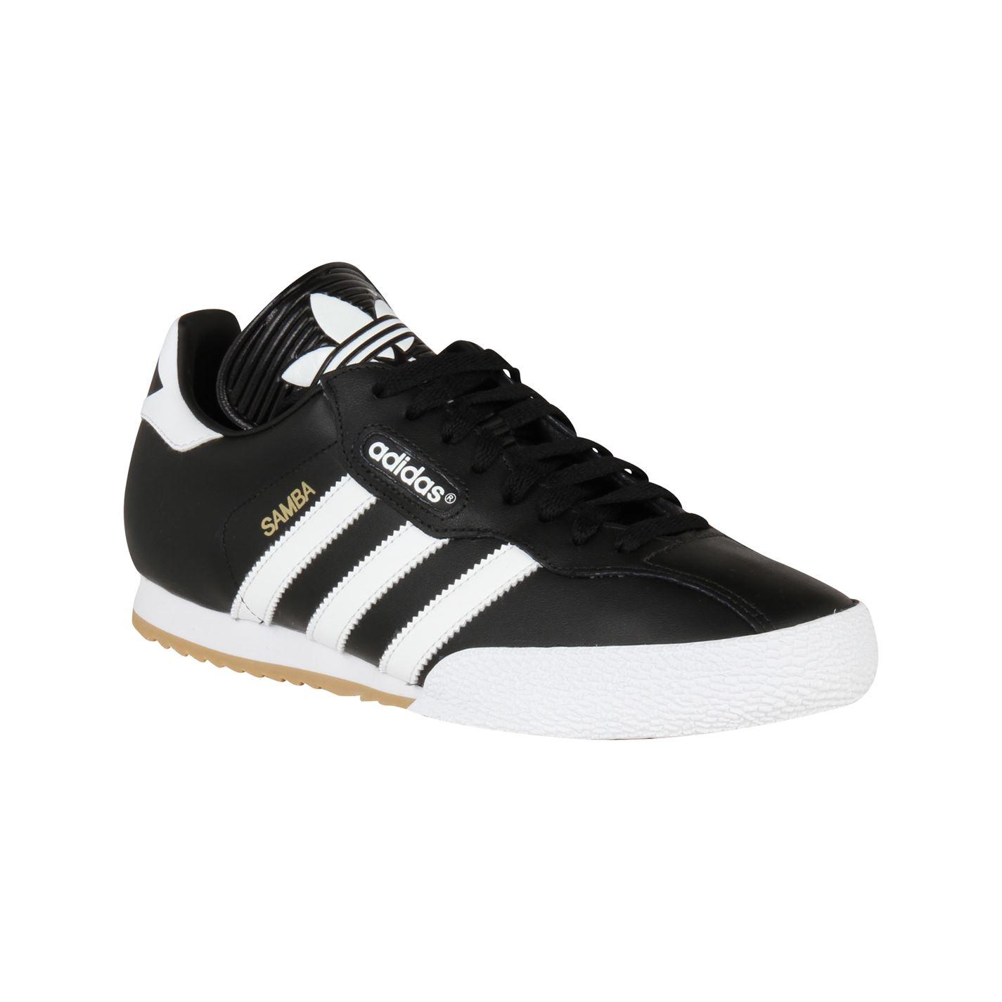 adidas samba trainers adidas samba super mens trainers black/white 263150 MUHAIBK