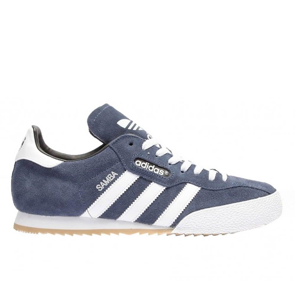 adidas samba trainers blue suede RGLXCKM