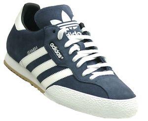 adidas samba trainers image is loading adidas-samba-mens-originals-trainers-navy-blue-suede- XTTEIDX