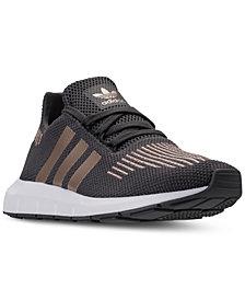 Adidas Shoes for Kids adidas big girlsu0027 u0027 swift run running sneakers from finish line XYMUWSH