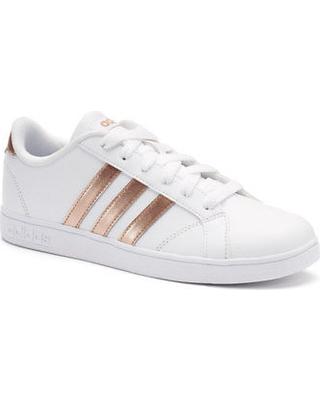 Adidas Shoes for Kids adidas neo baseline kidu0027s shoes, size: 2, white GEFIXUB