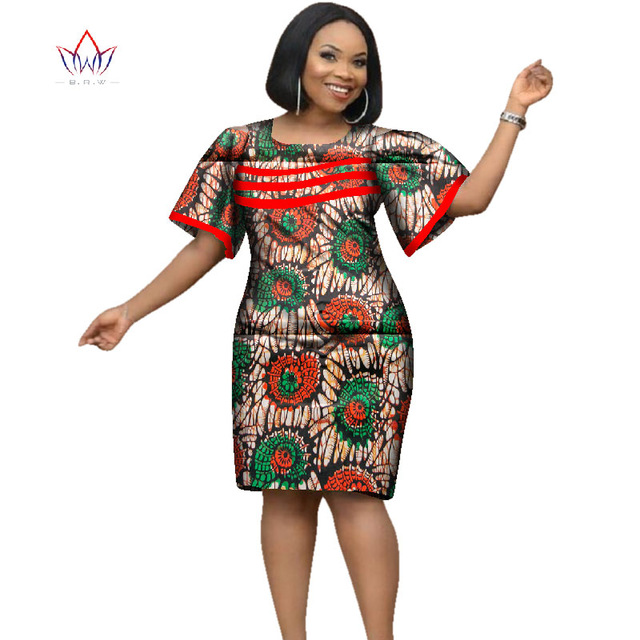 African Style Dresses 2018 africa dress for women african wax print dresses dashiki plus size africa  style FVFRTPC