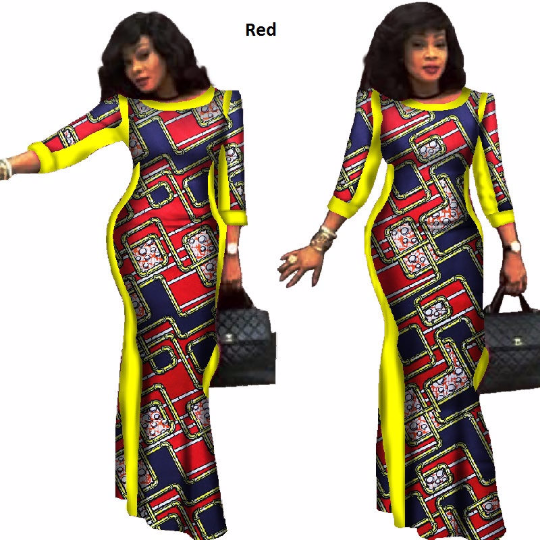 African Style Dresses ... already made ankara ,ankara gown, dashiki dress, african dress, african  styles, ... TKJQGBU