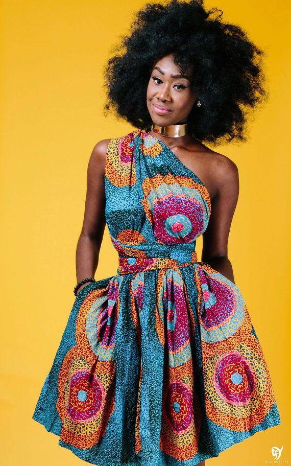 African Style Dresses mini unendlichkeit in ese von ofuure auf etsy KSIBRNF