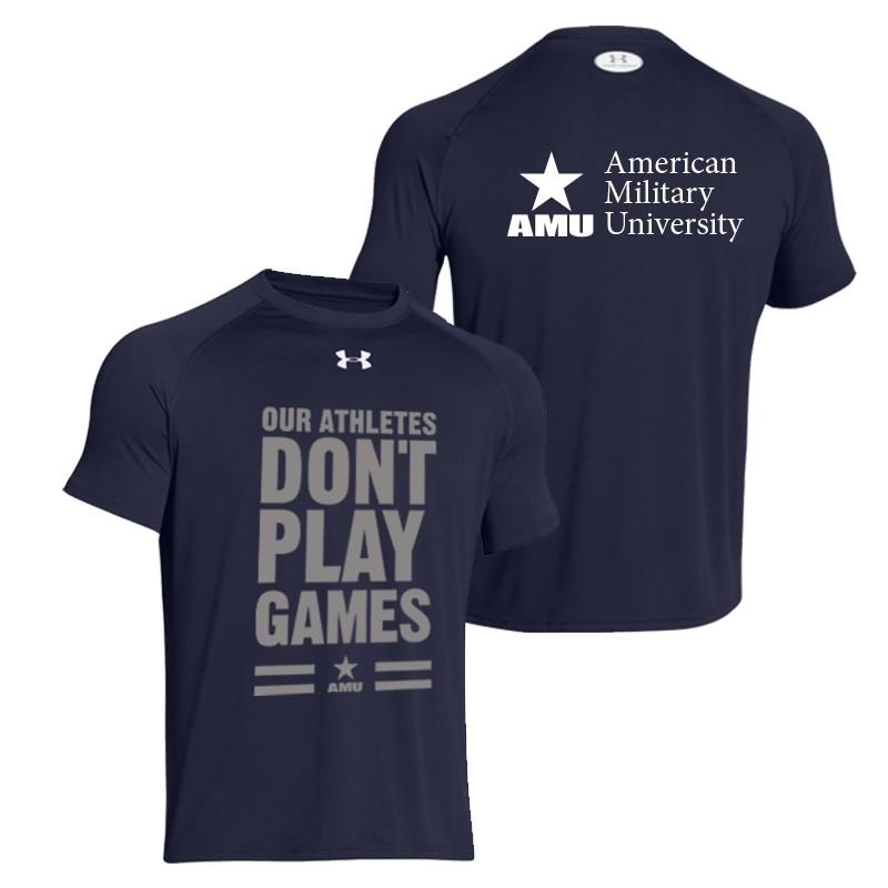 air force T shirts amu athletes under armour mens t-shirt (air force) ENTIJXU