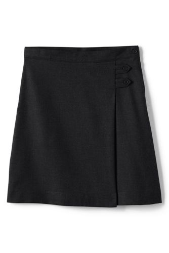 aline skirts school uniform girls solid a-line skirt below the knee UMQMIEA