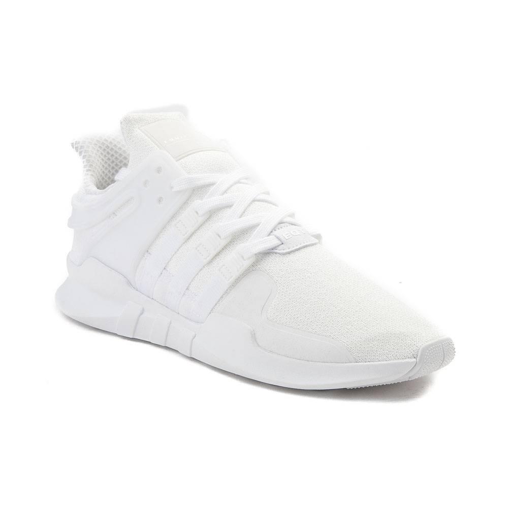 alternate view: mens adidas eqt support adv athletic shoe - white/white ... PIXONQT
