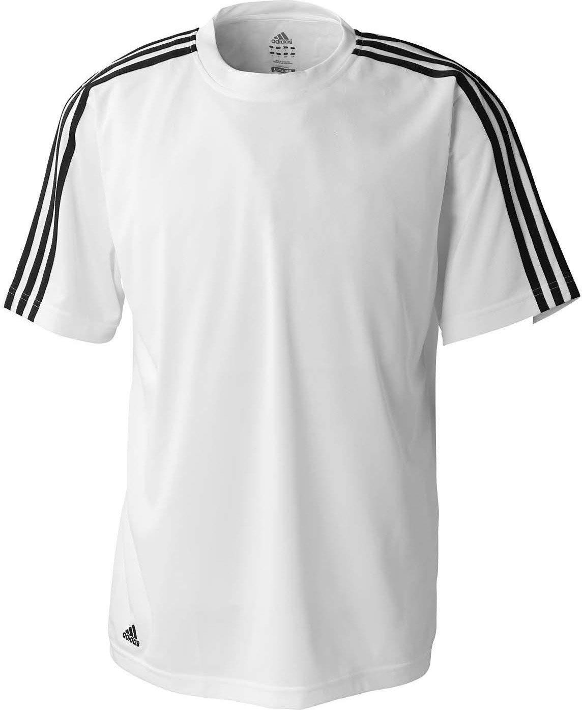 amazon.com: adidas climalite 3-stripes golf tee: sports u0026 outdoors PCYRHZV