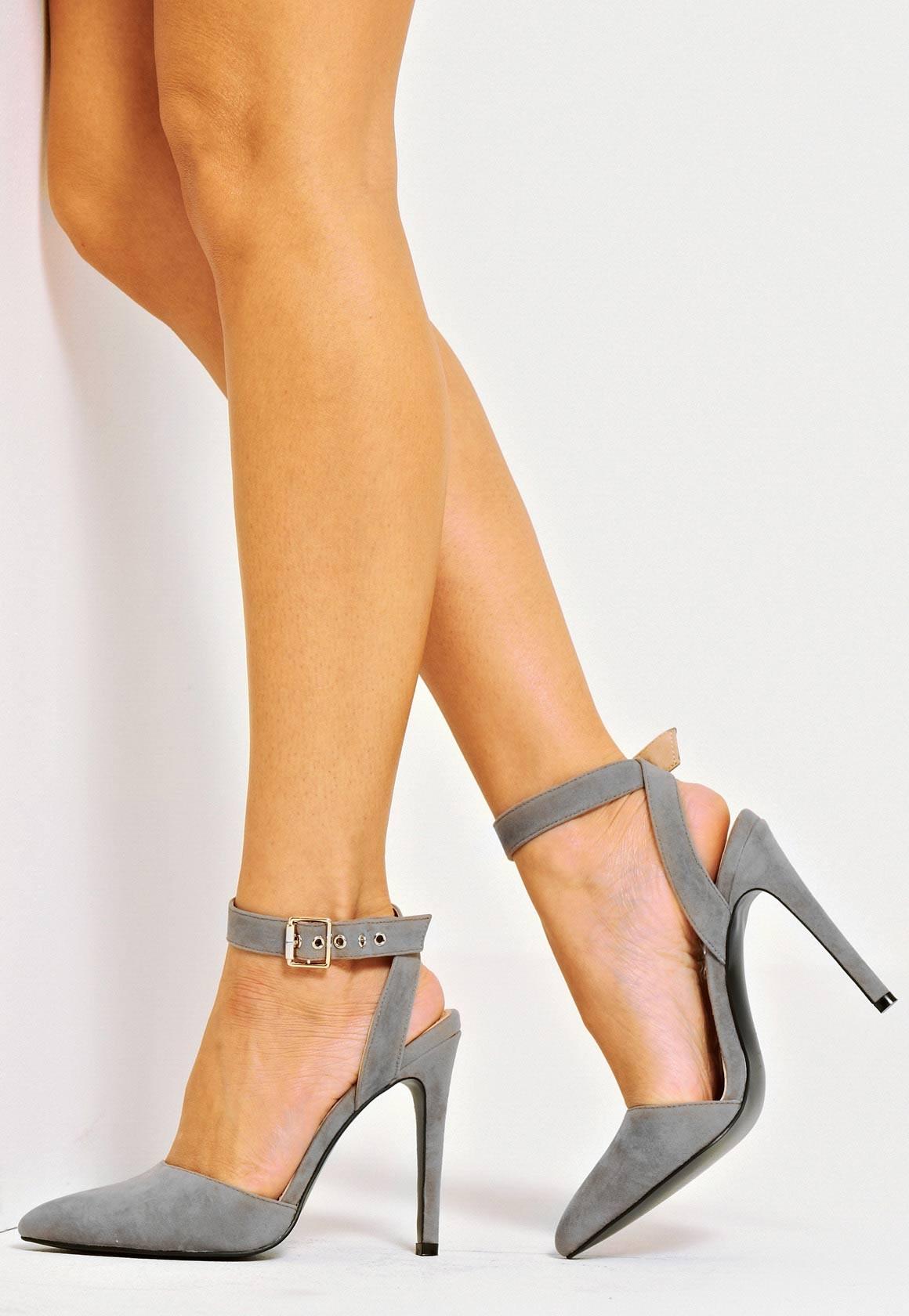 ankle strap shoes faye ankle strap court shoe grey. u20ac30.39 IKZLMPO