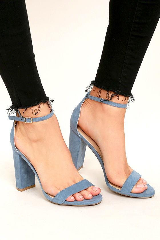 The perfect pair of ankle strap shoes