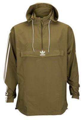 anorak jackets adidas originals blocked anorak jacket - menu0027s DVVQXWJ