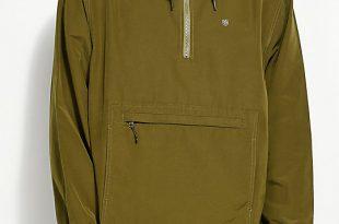 anorak jackets brixton patrol olive anorak jacket ... ZUNGXLE