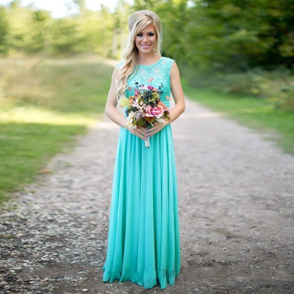 Aqua Dresses aqua blue bridesmaid dresses sequins chiffon summer wedding guest dress for  party floor length GCNJIBJ