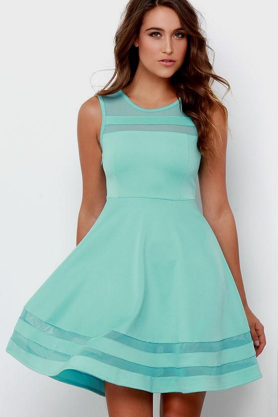 Aqua Dresses final stretch aqua dress at lulus.com! VNUHLOJ