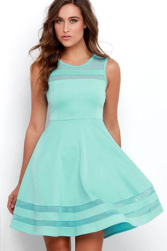 Aqua Dresses final stretch aqua dress RULCYII