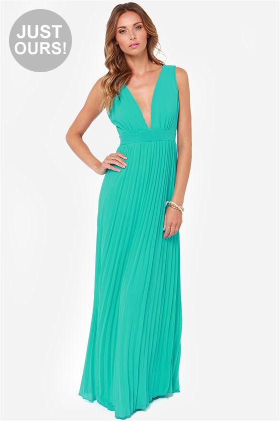 Aqua Dresses lulus exclusive ciao, ciao bella aqua maxi dress DIDCFNQ