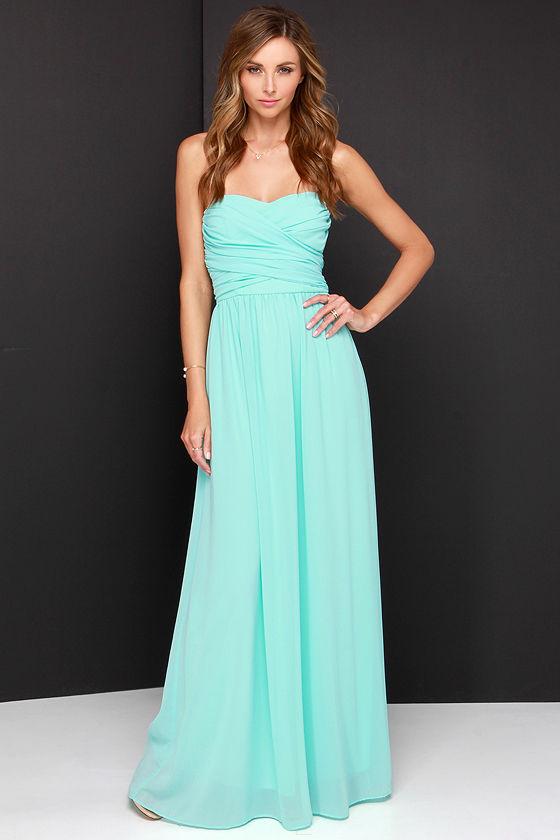 Beautiful Aqua Dresses for the beauty