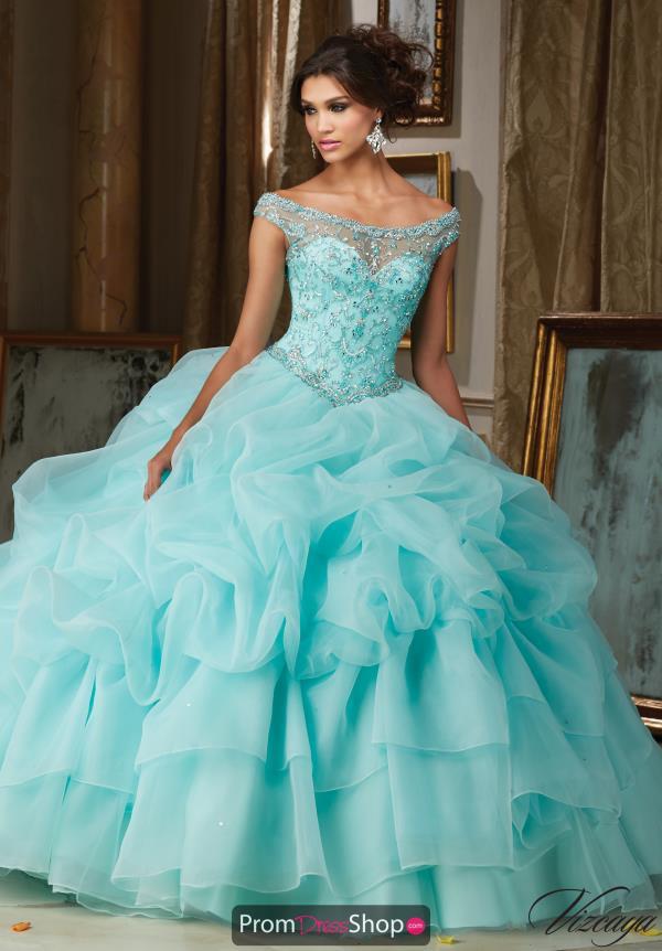Aqua Dresses vizcaya quinceanera organza ball gown 89110 IXHMRPQ