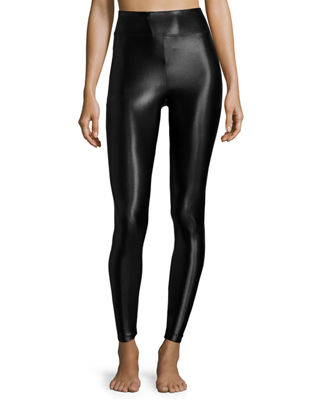 Athletic Leggings lustrous high-rise athletic leggings STINJJZ